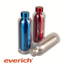 custom heat-transfer printing subzero stainless steel water bottle