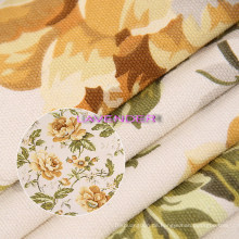 Blühende Blumen Muster 250GSM gewebt Canvas-Gewebe