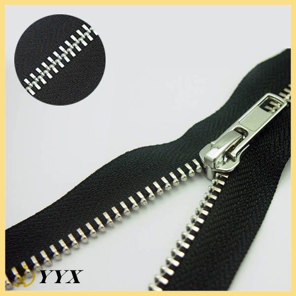 wholesale metal zippers