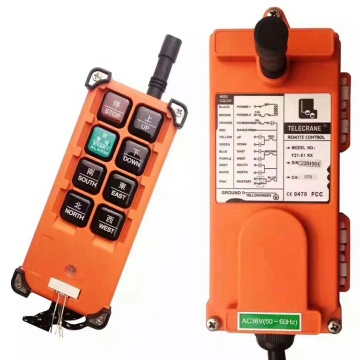 Remote control wired wireless para hoist crane