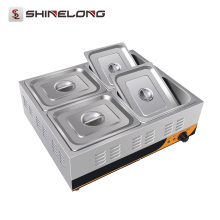 K463 4 Pans Electric Bain Marie Buffet Stainless Steel Food Warmer For Catering Industry