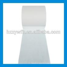 Tissu non-tissé de Spunlace de polyester de Viscose de Spunlace de croisement / parallèle de Spunlace