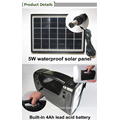 5w off grid solar power lights system best selling in Africa