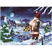 3D Lenticular Christmas Greeting Card