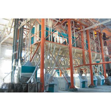 60-120 Tonnen Weizenmehlverarbeitungsausrüstung