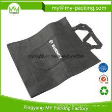Recyclez le sac non tissé se pliant fait sur commande écologique de pp