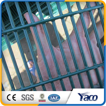 Low Price pvc coated 358 security fence prison mesh the high 358 security fencing(manufacturer)