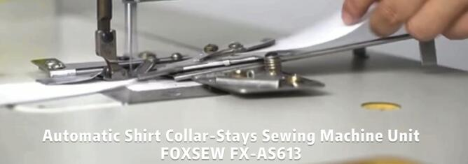 Automatic Shirt Collar-Stays Sewing Machine Unit FOXSEW FX-AS613 -1