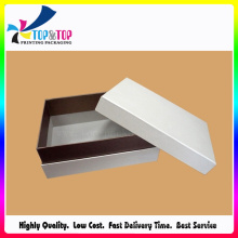 High Quality White Lid and Base Cardboard Box for Cosmetic