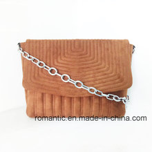 Wholesale Designer Lady Fake Suede Handbags with Chain (NMDK-050827)