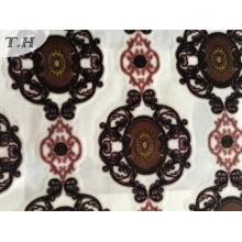 2017 Новый дизайн печати бархатной ткани в Китае производителей