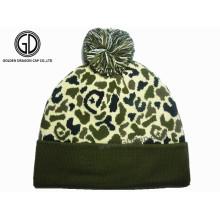 Classic Fashion Custom Camo Winter Warm Beanie Hat