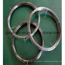 Fils de haute qualité ASTM B348 Gr5 en alliage de titane