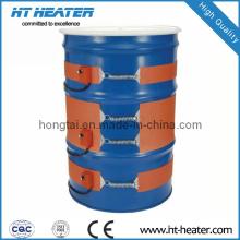Calentador de caucho de silicona de tambor de aceite de 1200 W