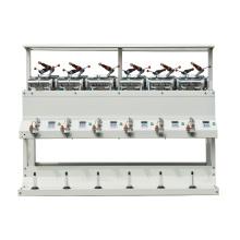 GUOSHENG alta velocidad hilado suave DC bobina máquina 12 husos GM-SD012