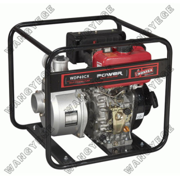 4-inch 9.0PS Water Pump Set with Diesel Engine and 85m3-h Displacement
