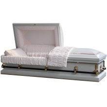 Cercueil d'acier blanc Dunham Nonsealer 20 Gauge