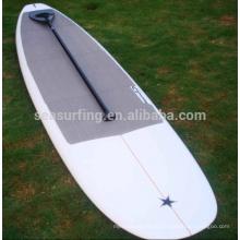 2017 quente !!!! Folheado de bambu resina epóxi fibra de vidro SUP paddle board / stand up pedal sup board paddle