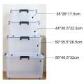 Caja de almacenamiento de tirón de pila de productos domésticos de plástico personalizado