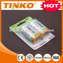 Size D 10000MAH ni-mh rechargeable battery