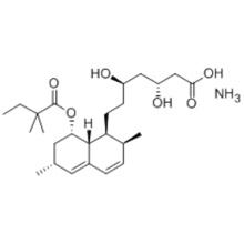 1-Naphthaleneheptanoicacid, 8-(2,2-dimethyl-1-oxobutoxy)-1,2,6,7,8,8a-hexahydro-b,d-dihydroxy-2,6-dimethyl-, ammonium salt (1:1),( 57262911,bR,dR,1S,2S,6R,8S,8aR) CAS 139893-43-9