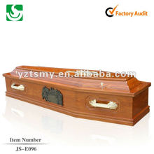 Античный деревянный гроб дешевые кремации JS-E096