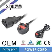 SIPU UK Netzkabel mit Stecker, Female Power Cord ends.ac Netzkabel, britische Netzkabel