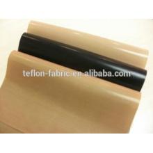 China fabricante ptfe teflón de alta temperatura de resistencia de calor de tela de tela de sellado