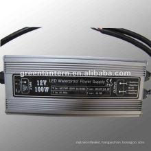 100W 12V waterproof electronic led driver
