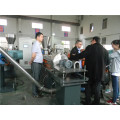 PE PS PVC PP plastic twin screw pelletizing extruder