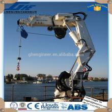 workshop shanghai factory hydraulic marine ship crane