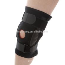 Wholesale custom adjustable steel spring knee support brace