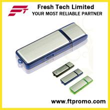 Классический рекламных пластиковые & алюминиевых USB флэш-накопитель для заказной (D103)