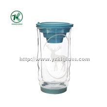 Double Wall Glass Bottle by BV, SGS