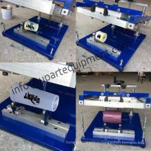 Стеклянная бутылочная трафаретная печатная машина для продажи от руки с низкой ценой