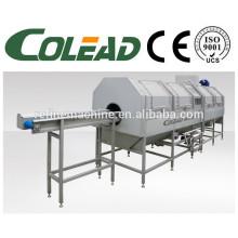 Máquina de pré-cozimento da haste / máquina de blanching vegetal da folha / máquina de descascamento vegetal / máquina de cozimento