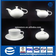 Костюм венчания возвращения точный косточка Китай белый комплект кофе с сахаром может и сливк опарник