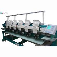 Компьютеризированная 6 руководителей Cap/Т-маечка вышивальная машина