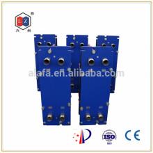 China Plattenwärmetauscher Wasser-zu-Öl-Kühler Hersteller (M6B)