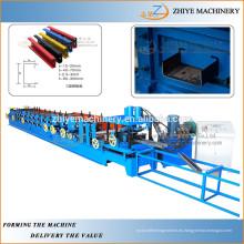 2 años de garantía Cuz purlin máquina de laminación / web ajustable CUZ máquina de la viga / multi-tamaño CUZ purlin rodillo que forma la máquina