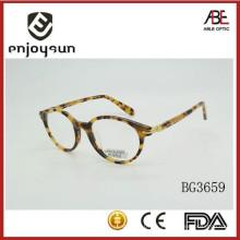 La manera coloreó los anteojos eyewear oculares de los marcos ópticos del acetato