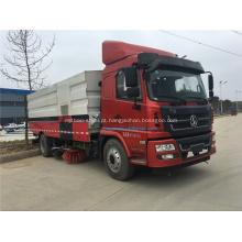 Shanqi Novo caminhão vassoura 4x2
