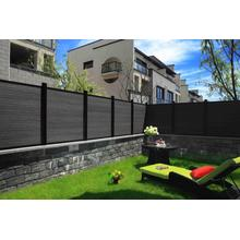 Wood Plastic Composite Outdoor WPC Fence Wall