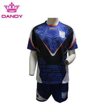 Kundenspezifisches Sublimations-Rugby-Shirt