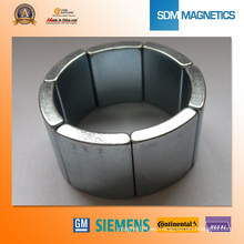 N35sh Strong Powerful Neodimium Segment Magnets