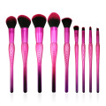 9PC Ombre Make-up Pinsel Set
