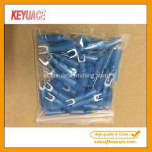 Biru Heat Shrink Fork Wire Waterproof Terminal