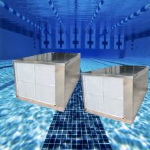 Rust-free stainless steel cabinet swimming pool heat pump