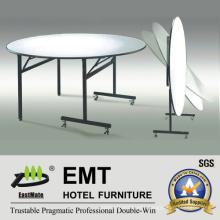 Flexible Design Hotel Restaurant Furniture Dining Table (EMT-FT607)