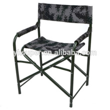 Casual home captain chair with steel frame